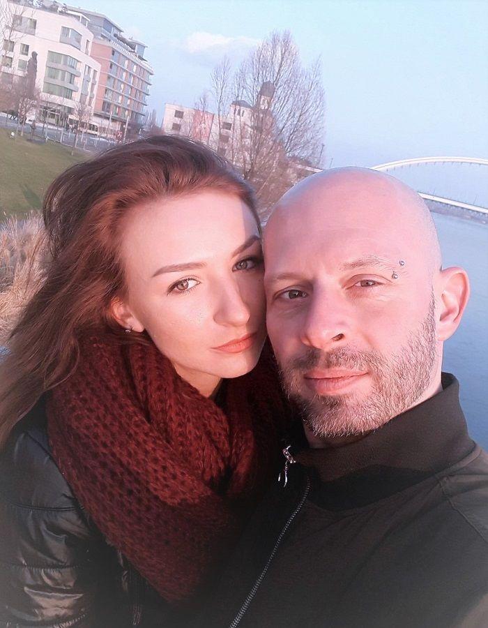 Dominika Fabová alias Diana a Andy (alias aj naozaj) Sebastian Morávek