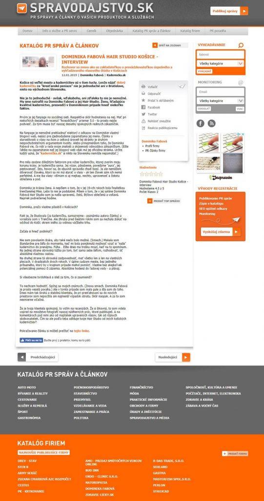 Referencie a recenzie kvalitného copywritera