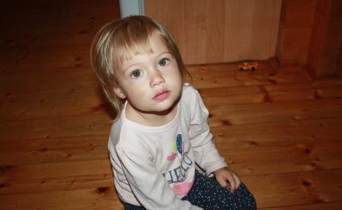 Rozkošné malé dievča, mladá Slovenka, bábätko